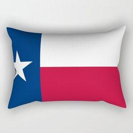 Texas: State Flag of Texas Rectangular Pillow