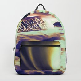 aurora borealis acrylic reacls Backpack