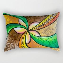 Abstract Pua Rectangular Pillow