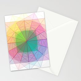 geometric abstract 1 Stationery Cards