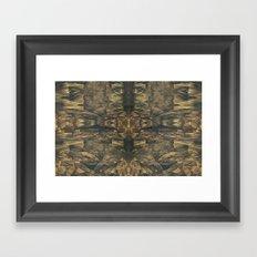 Stalagmites Version 2 Framed Art Print
