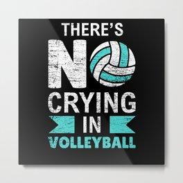 Volleyball Metal Print