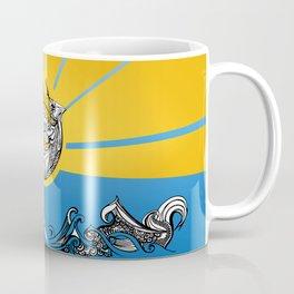 Phoenix Over The Sea Coffee Mug
