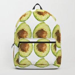 avocado 4x5 pattern grid, fill, repeating, tiled | elegant Backpack