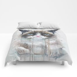 Angry Cat Comforters