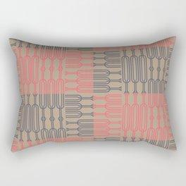 Bosque Gray&Pink Rectangular Pillow