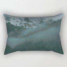 Swiss Fog VII Rectangular Pillow