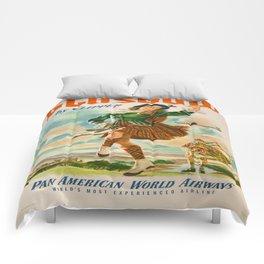 Vintage poster - Glasgow Comforters