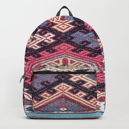 Azeri Karabagh South Caucasus Mafrash Print Backpack