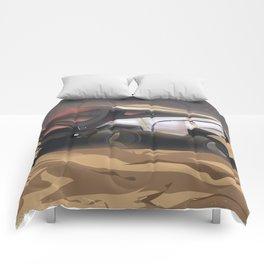 Mars, Enlist Today! Mars Rover travel poster Comforters