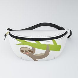 funny sloth Fanny Pack