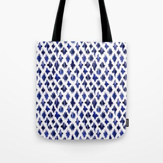 Shaking ultramarine Tote Bag