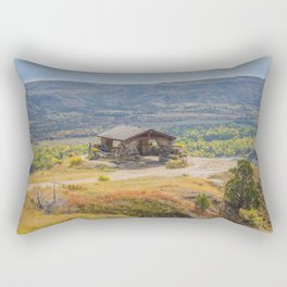 Badlands Overlook, Theodore Roosevelt NP, ND 30 Rectangular Pillow