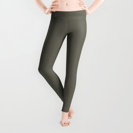 Military Geen  - Solid Color Collection Leggings