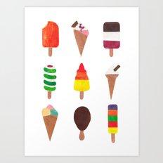 Ice Cream! Art Print