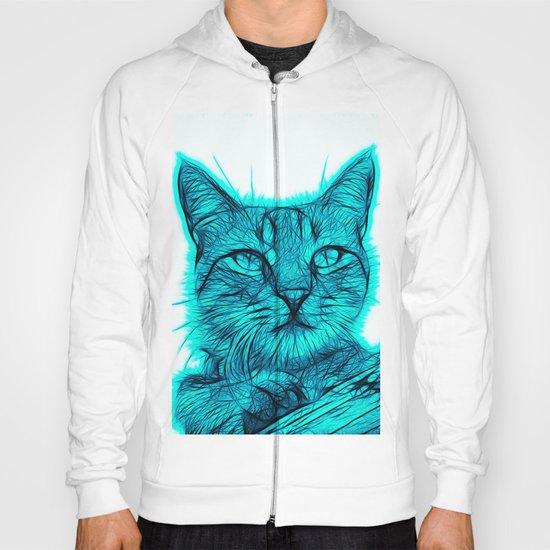 Feral cat Hoody