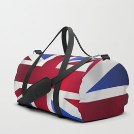 Union Jack Flag Duffle Bag