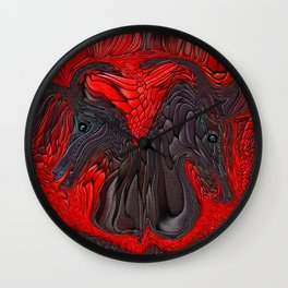 SONNY AND SHER...SHOWTIME Wall Clock