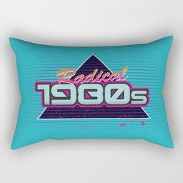 Radical 1980s Rectangular Pillow