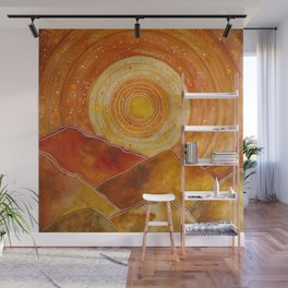 Sunset w.02 Wall Mural