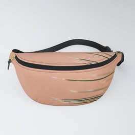 Pink cactus wall Fanny Pack