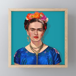 Frida Khalo Framed Mini Art Print