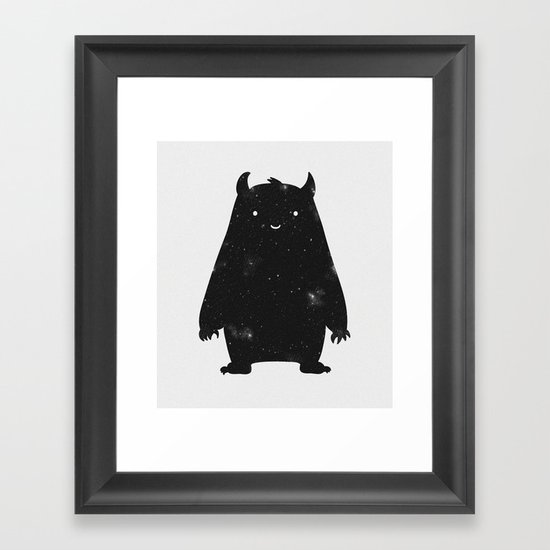 Mr. Cosmos Framed Art Print