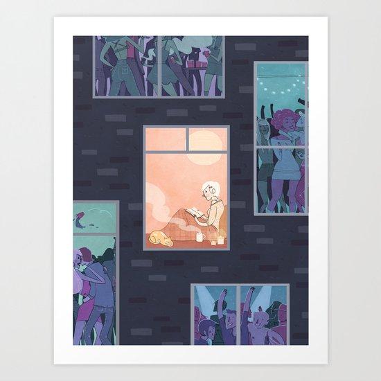 The Upside of Being an Introvert Art Print