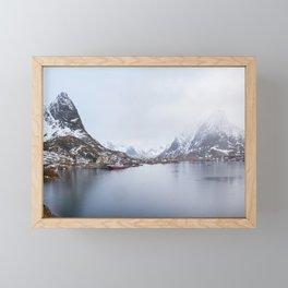 Reine pano Framed Mini Art Print