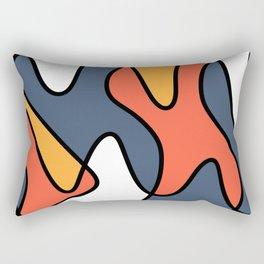 Water dance Rectangular Pillow