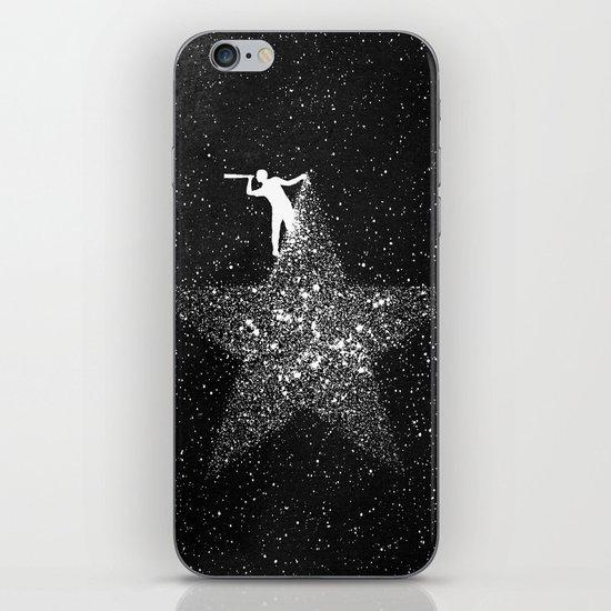 Stargazing iPhone & iPod Skin