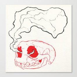 Otterly Dead Canvas Print