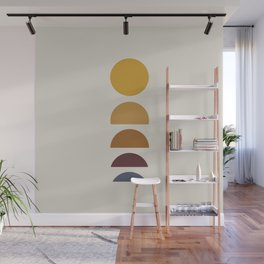 Minimal Sunrise / Sunset Wall Mural