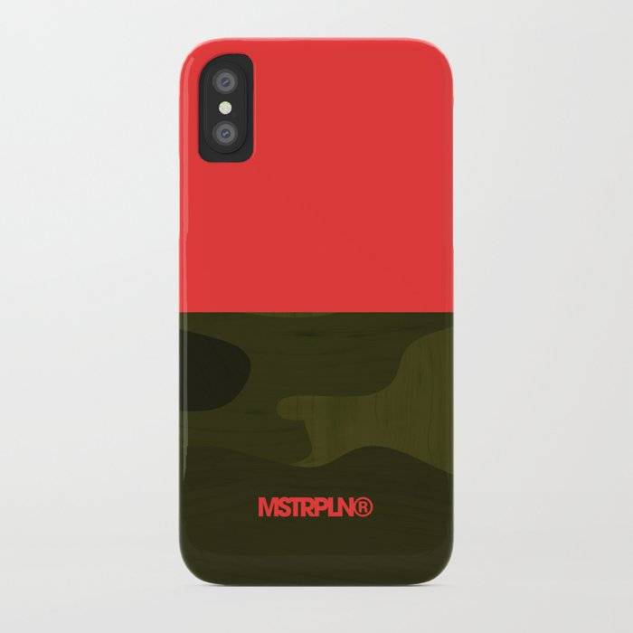 Camp Camo iPhone Case
