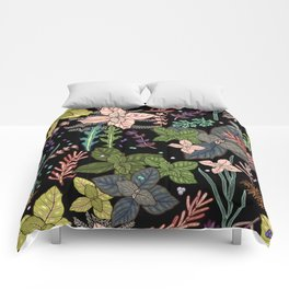mysterious herbs Comforters