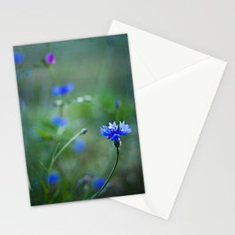 magic blue Stationery Cards