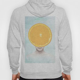 Orange Head Lady Hoody