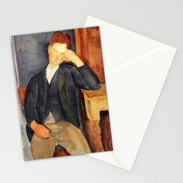 Amedeo Modigliani - The Young Apprentice - Digital Remastered Edition Stationery Cards