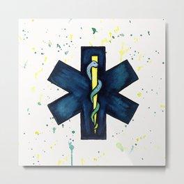 EMT Hero Metal Print