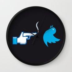 UNSOCIAL NETWORK Wall Clock