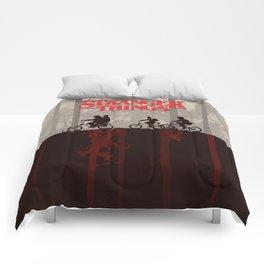A little too strange Comforters