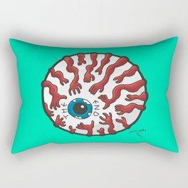 The End Eye Rectangular Pillow
