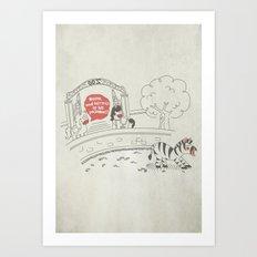 Sloth - Lazybra Art Print