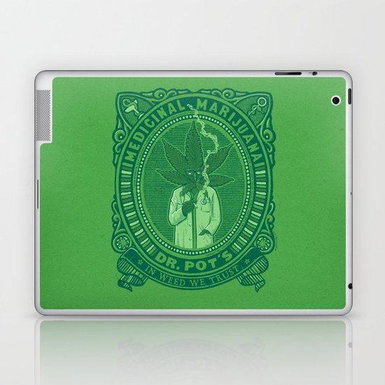 Medicinal Marijuana Laptop & iPad Skin