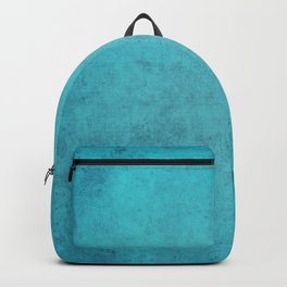 blue wall vintage  background,  stone texture, retro style Backpack