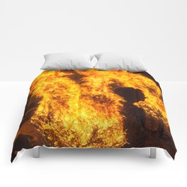 Man In The Fire Comforters
