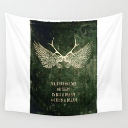 Dream within a Dream Wall Tapestry