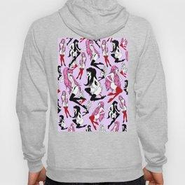 Pink Black Vamp Paradise Hoody