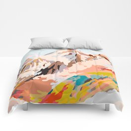 glass mountains Comforters