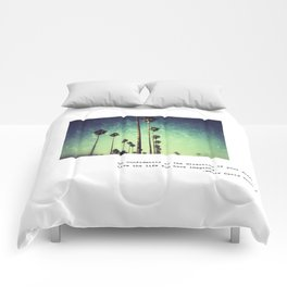 Live the life you have imagined #2 Comforters
